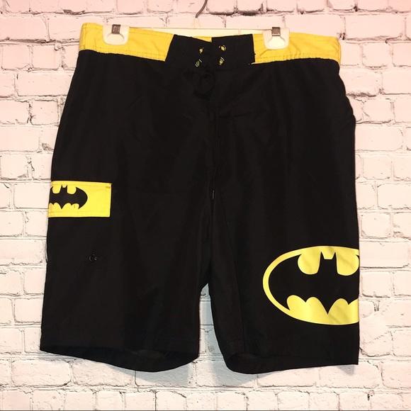 1ce533673c Batman Swim | Black Yellow Trunks | Poshmark